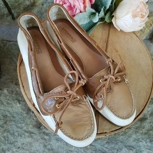 Sperry Top Sider Butter Soft Leather Sz 8
